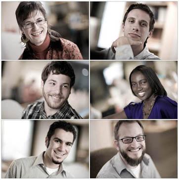 location headshots of graphic designers
