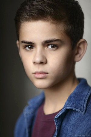 Child actor-model headshot