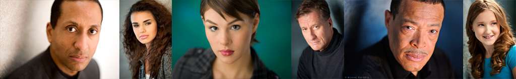 Pittsburgh Model & Actor Headshot Banner image