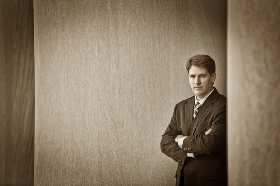 executive portrait at Pittsburgh location