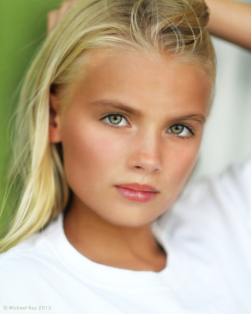 Headshots for Child Actrors and Models