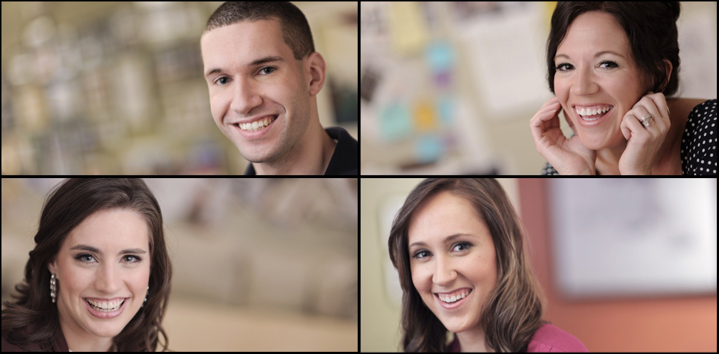 Employee Headshots For Webpage Banner